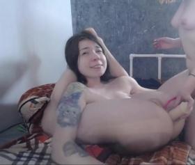 Lezbiyen kızlardan harika lezbiyen porno