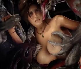 3D anime porno, zomnilerin genç kıza tecavüz pornosu