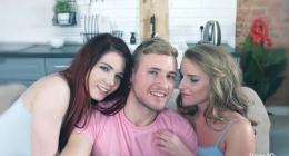 3lü gurup sikiş, kimi bulamaz, kimi sikemez, Lovenia Lux