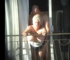 Alanyada turistler balkonda sikişiyor artık