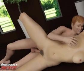 Annesini duştan sonra siken genç, hentai porno