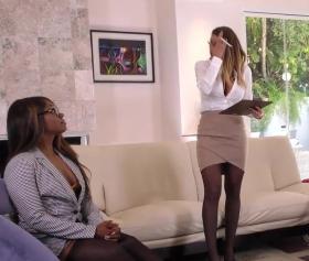 Brooklyn Chase, Ana Foxxx ve Skyler Nicole Grup Pornosu