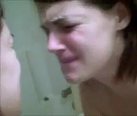 Götten yiyen kızın ilk denemesi çok acılı oldu