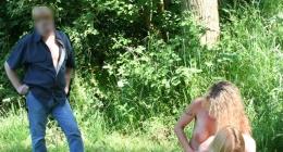 Orman bekçisine yakalanan lezbiyenler yakayı kurtaramadı