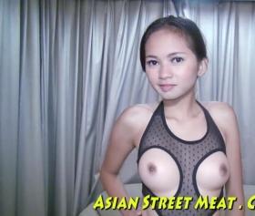 Asyalı seksi kızın rüyasında camda sex yaptığı gerçek kişi