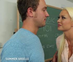 Beni sikersen okul birincisi yaparım seni, öğretmen pornosu