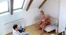 Gerçek çekim porno kamera arkaları görüntüsü