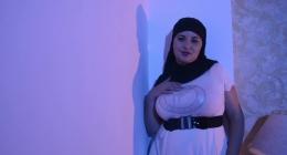 Şişman türbanlı kadının, erotik sevişme filmi izle