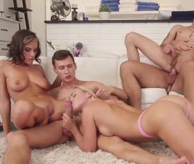 Biseksüel erkekler ve gay grup sikiş filmi