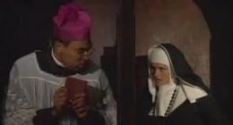 Kirli yaramaz rahibelerle çok uzun konulu bir porno