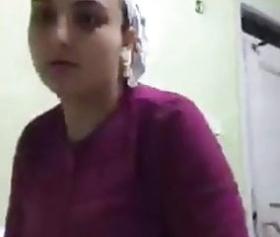 Mardinli kız kamerada show yapıyor